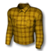 Plaid shirt yellow
