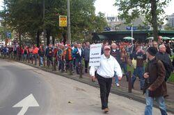 GroenLinks demonstration 20041002 CopyrightKaihsuTai