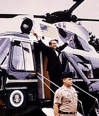 Nixon-depart