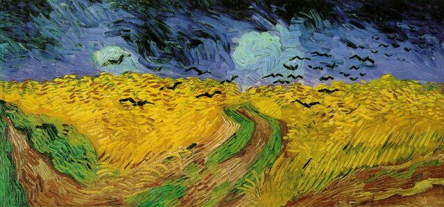 File:Vincent van Gogh (1853-1890) - Wheat Field with Crows (1890).jpg