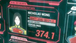 Wong Crime Coefficient
