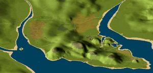 PortoClaro mapa visaoaerea3D