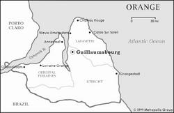 Orange mapa nacional