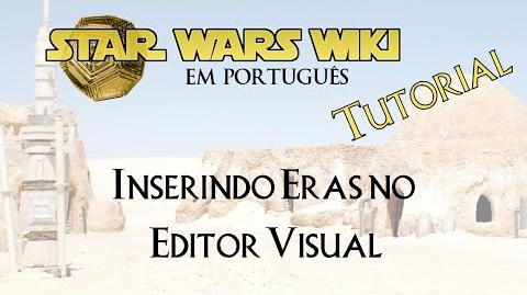 TUTORIAL Inserindo Eras no Editor Visual