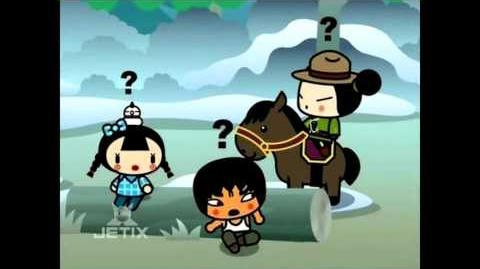 Pucca Funny Love Season1-Ep19-Pt2-Lumberjacked