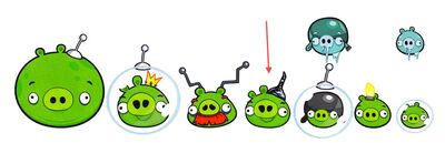 New angry birds space pigs by twitterfan-d4relam