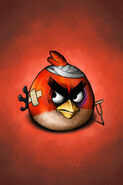 Angry-birds-yellow-bird-after-battle-iphone-background-by-scooterek