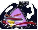 Lazer bird cartoon cartoon