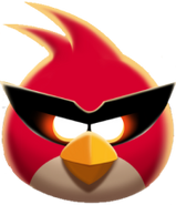 Super red bird