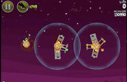 Angry Birds Space - Utopia level 4-3
