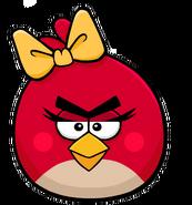Ab female red bird by antixi-d52qbxu