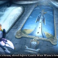 Ezma at castle Wax Wane