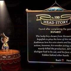 Kutaro's Head