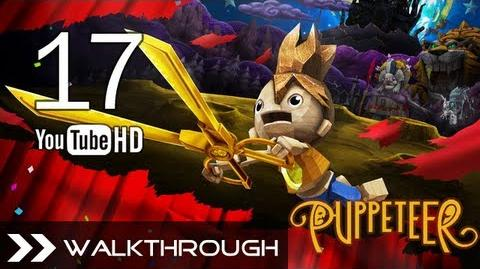 Puppeteer Walkthrough - Gameplay Part 17 (Time's a-Ticking - Act 6 Curtain 2 - G