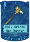 HolyBronzeWarHammer