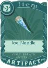 Ice needle