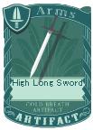 High Long Sword
