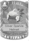 Silver Sparkle Helmet