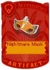 Nightmare Mask Silver
