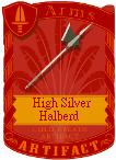 High Silver Halberd