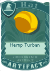 Hemp turban