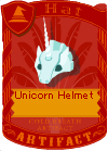 Unicorn Helmet