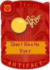 Giant Beatle Eyes