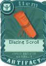 Blazing scroll
