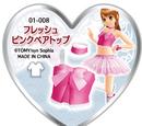 Fresh Pink Bare Top