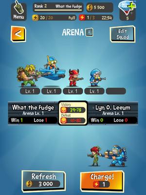 Battle Info Page