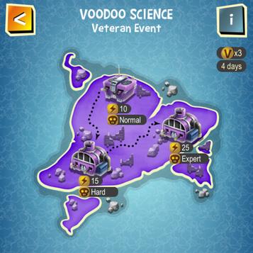 VOODOO SCIENCE map