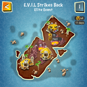 E.V.I.L Strikes Back map