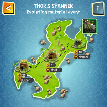 THOR'S SPANNER map