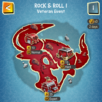 ROCK & ROLL I map