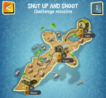 Special Event - SHUT UP AND SHOOT map