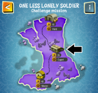 ONE LESS LONELY SOLDIER (EXPERT) map