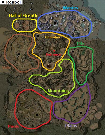 UW Map Areas
