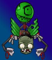 Flying Planteater Zombie