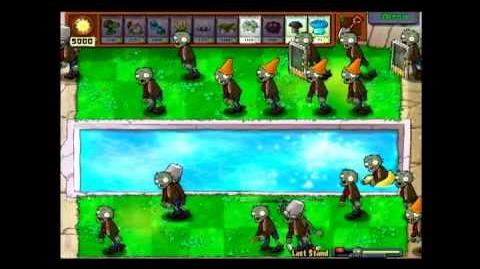 """Plants vs Zombies Best Last Stand strategy or """"dont do anything"""""""