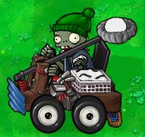 Catapult Snowball Zombie