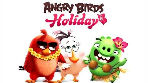 Angry Birds Holiday music - Holiday's Village