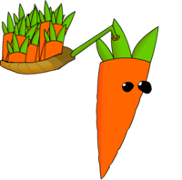 Carrot-pult