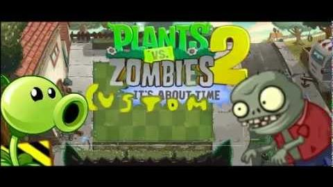 Plants vs Zombies 2 Custom Music - Front Yard (Pinata Party) Demonstration Mini Game