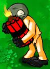 Dynamite Bomber Zombie