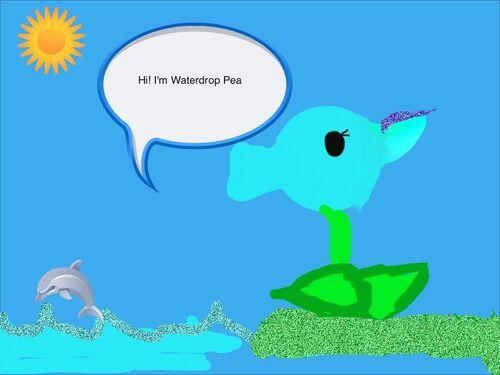 Waterdrop Pea