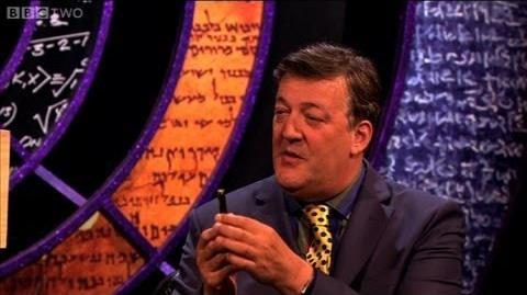 Stephen Fry pops balloons with a laser pen - QI - Series 10 Episode 13 - BBC Two