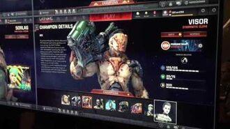 Quake Champions - Scalebearer, Visor, Ranger, Control Settings