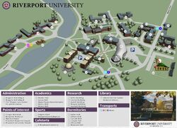 Map of University
