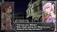Queen's Gate Spiral Chaos Freetalks Translation- Cute (2 of 2) (+kiss scene)