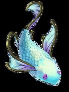 Sapphire Fish transparent